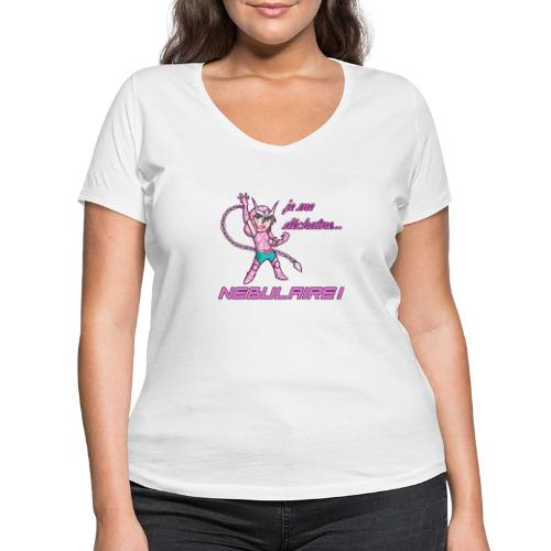 Shun - Déchaîne Nébulaire - T-shirt bio col V Stanley & Stella Femme