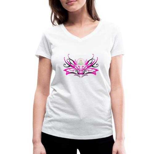 ButterFly MaitriYoga - T-shirt bio col V Stanley & Stella Femme