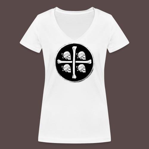 4 Morti - Pirati di Sardegna - T-shirt ecologica da donna con scollo a V di Stanley & Stella