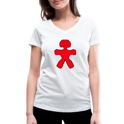 Blackie - Økologisk Stanley & Stella T-shirt med V-udskæring til damer