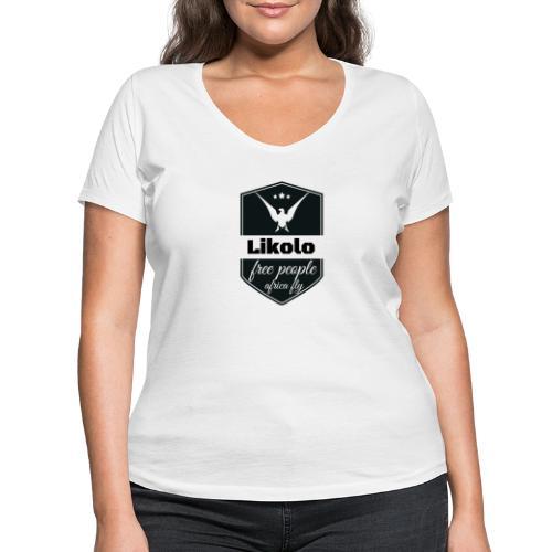 likolo. - T-shirt bio col V Stanley & Stella Femme