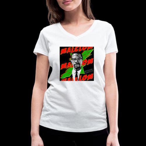 MALCOM by UNDERGROUND SOUNDSYSTEM - Frauen Bio-T-Shirt mit V-Ausschnitt von Stanley & Stella