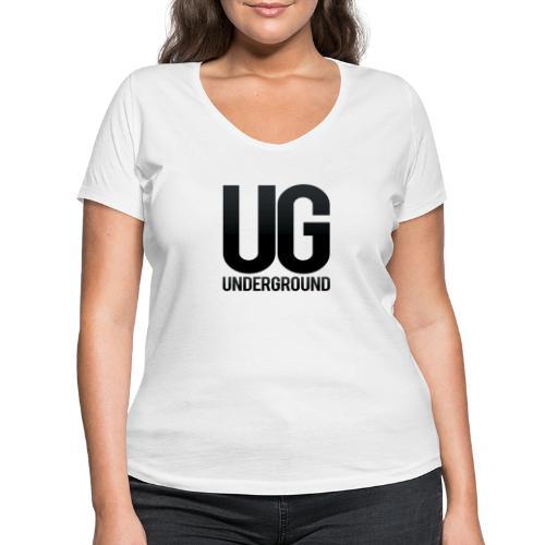 UG underground - Women's Organic V-Neck T-Shirt by Stanley & Stella
