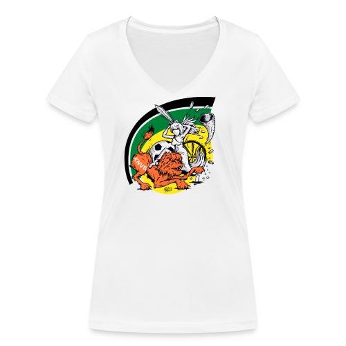 fortunaknvb - Vrouwen bio T-shirt met V-hals van Stanley & Stella