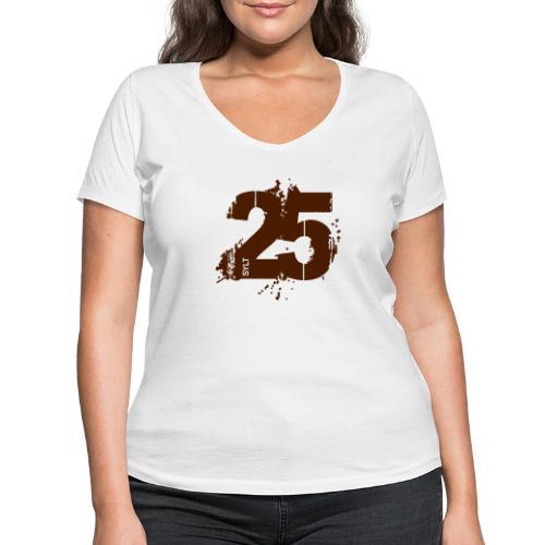 City_25_Sylt - Frauen Bio-T-Shirt mit V-Ausschnitt von Stanley & Stella