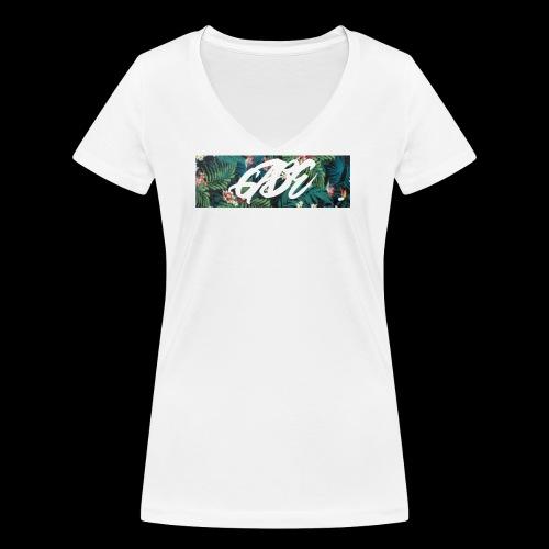 GABE FLOW - Frauen Bio-T-Shirt mit V-Ausschnitt von Stanley & Stella