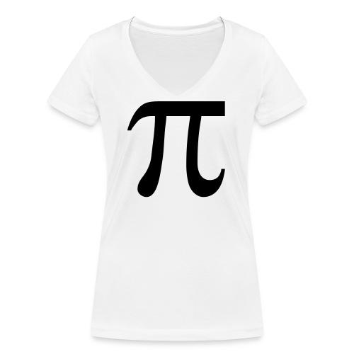 pisymbol - Vrouwen bio T-shirt met V-hals van Stanley & Stella