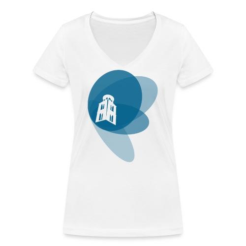 Maglietta a manica lunga - T-shirt ecologica da donna con scollo a V di Stanley & Stella