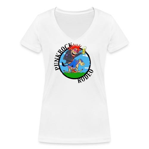 PUNKROCK RODEO - Frauen Bio-T-Shirt mit V-Ausschnitt von Stanley & Stella