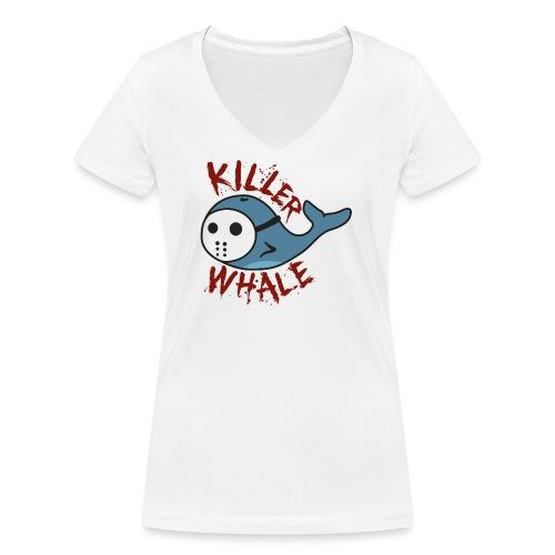 Killer Whale - Frauen Bio-T-Shirt mit V-Ausschnitt von Stanley & Stella