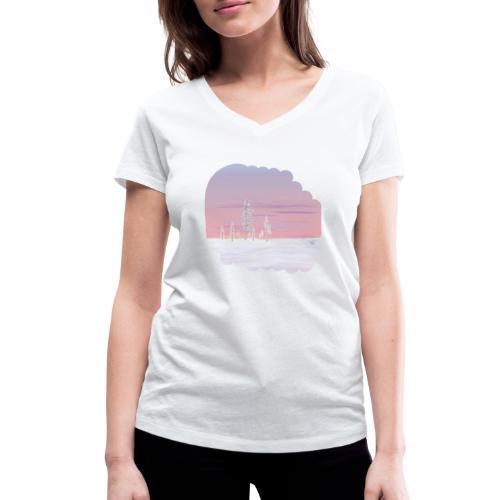 Un printemps précoce - T-shirt bio col V Stanley & Stella Femme