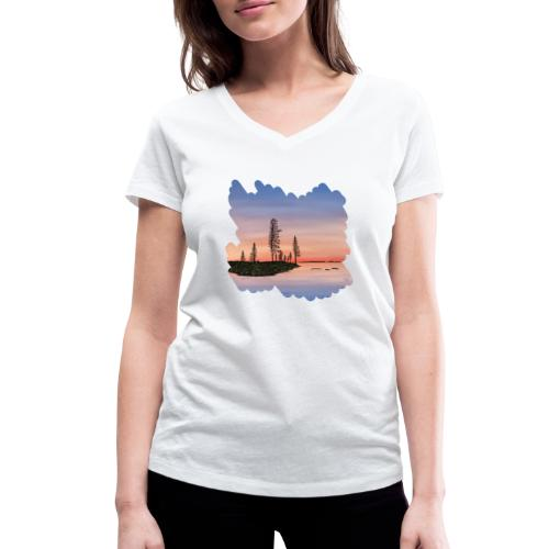 Zomer in Lapland - T-shirt bio col V Stanley & Stella Femme