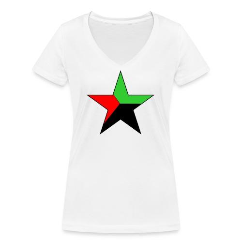 etoile martinique - T-shirt bio col V Stanley & Stella Femme