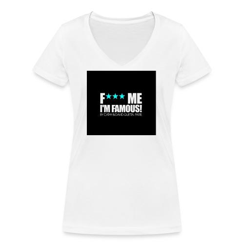 FMIF Badge - T-shirt bio col V Stanley & Stella Femme