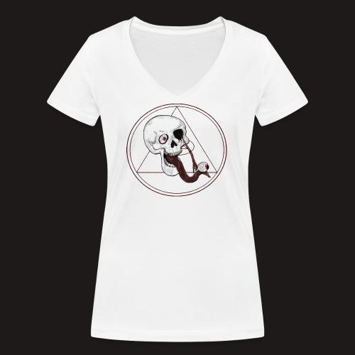 EyeSkull - Frauen Bio-T-Shirt mit V-Ausschnitt von Stanley & Stella