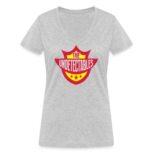 Undetectables voorkant - Vrouwen bio T-shirt met V-hals van Stanley & Stella