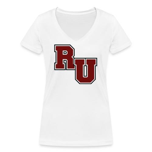 rusk - Women's Organic V-Neck T-Shirt by Stanley & Stella