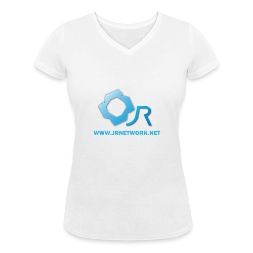 Official Logo - Women's Organic V-Neck T-Shirt by Stanley & Stella