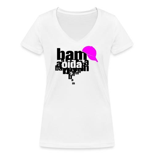 bam oida bam - Frauen Bio-T-Shirt mit V-Ausschnitt von Stanley & Stella