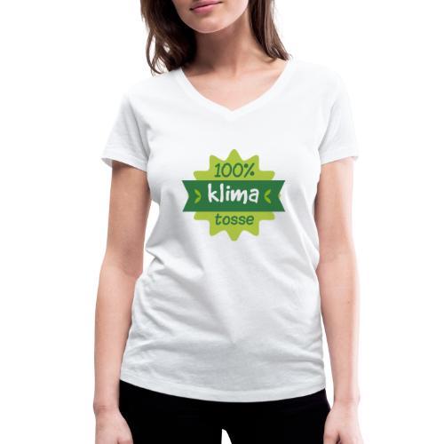 100% Klimatosse - Økologisk Stanley & Stella T-shirt med V-udskæring til damer