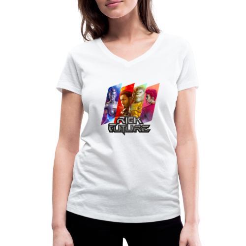 RF Crew Tags - Frauen Bio-T-Shirt mit V-Ausschnitt von Stanley & Stella