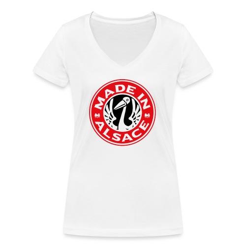 StorkyBuck - T-shirt bio col V Stanley & Stella Femme
