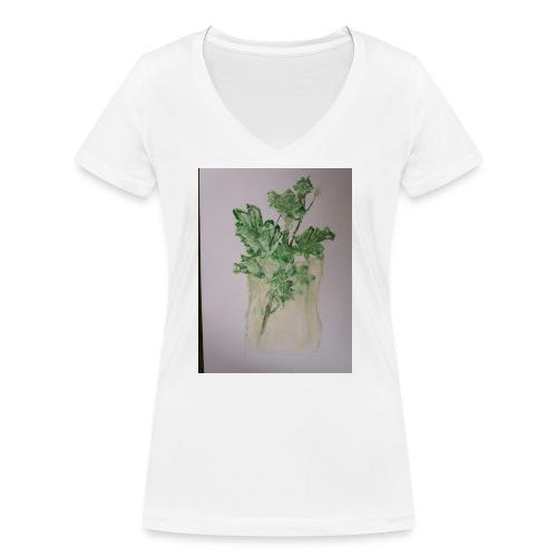 20171005 132319 - Stanley & Stellan naisten v-aukkoinen luomu-T-paita
