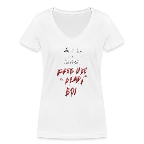 Yandere - Frauen Bio-T-Shirt mit V-Ausschnitt von Stanley & Stella