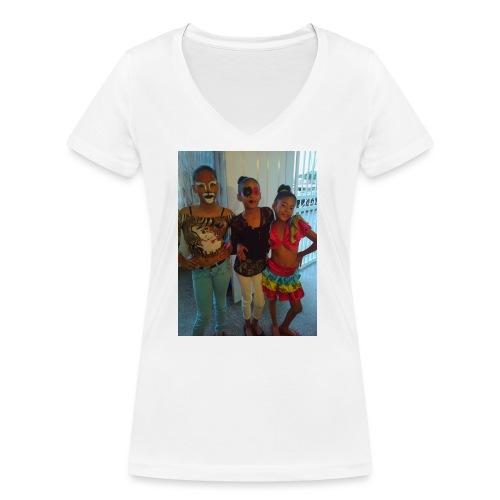16836465 10212265087321751 6800250659166245572 o - Camiseta ecológica mujer con cuello de pico de Stanley & Stella