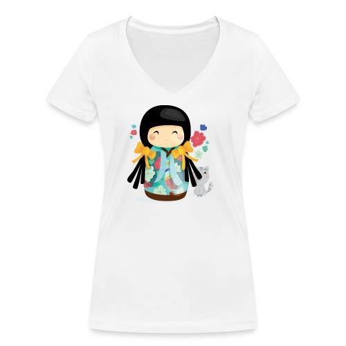 1 - T-shirt bio col V Stanley & Stella Femme