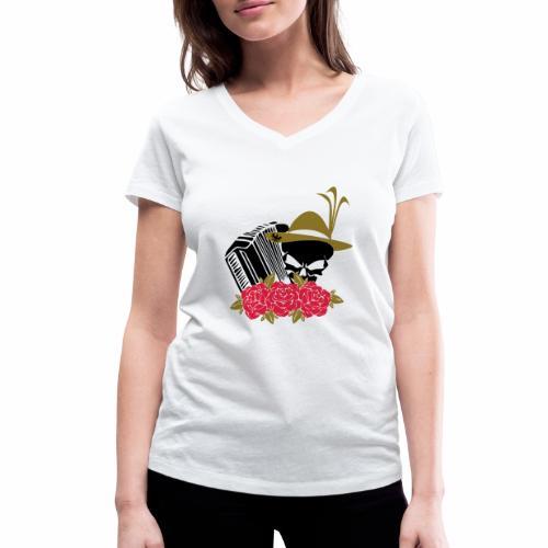 Rock Harmonika - Frauen Bio-T-Shirt mit V-Ausschnitt von Stanley & Stella