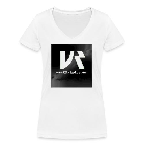 logo spreadshirt - Frauen Bio-T-Shirt mit V-Ausschnitt von Stanley & Stella