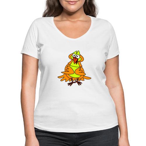 Vogel Nr 3 von dodocomics - Frauen Bio-T-Shirt mit V-Ausschnitt von Stanley & Stella