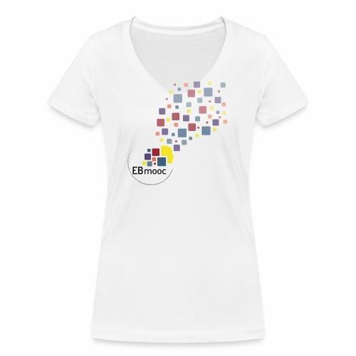 EBmooc T Shirt neutral - Frauen Bio-T-Shirt mit V-Ausschnitt von Stanley & Stella