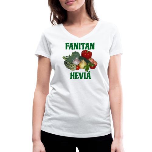 Fanitan heviä - Stanley & Stellan naisten v-aukkoinen luomu-T-paita