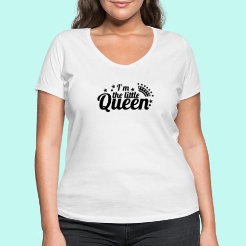 I'm the little Queen - Frauen Bio-T-Shirt mit V-Ausschnitt von Stanley & Stella