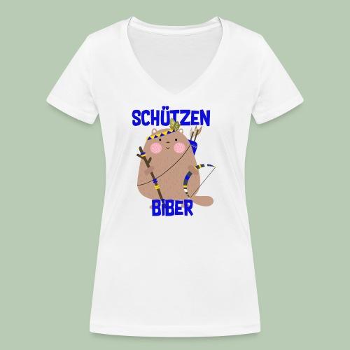 Schützenfest Biber Biberach Biberacher Schützen - Frauen Bio-T-Shirt mit V-Ausschnitt von Stanley & Stella