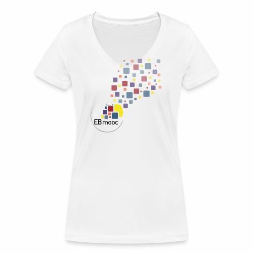 EBmooc T-Shirt 2018 - Frauen Bio-T-Shirt mit V-Ausschnitt von Stanley & Stella