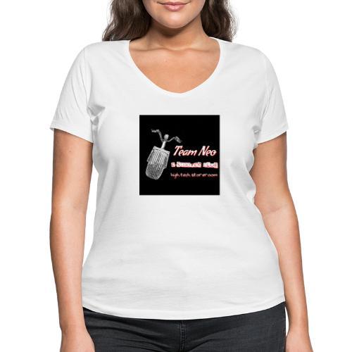 Neo Scooter Club - T-shirt bio col V Stanley & Stella Femme