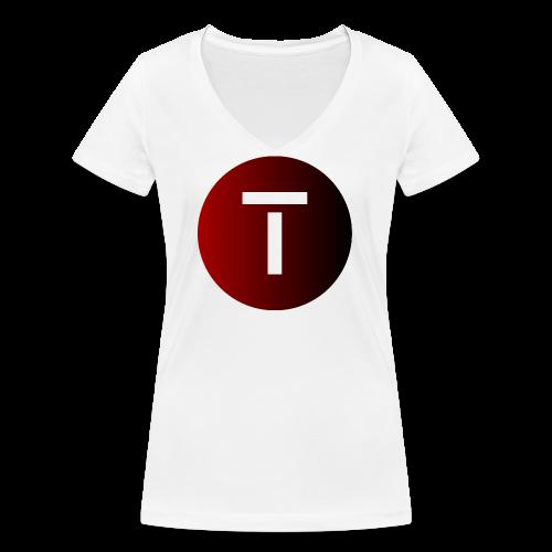 Tech4You International Dot - 2019 - Frauen Bio-T-Shirt mit V-Ausschnitt von Stanley & Stella