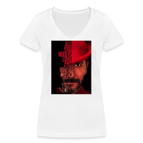All U NEED - Frauen Bio-T-Shirt mit V-Ausschnitt von Stanley & Stella