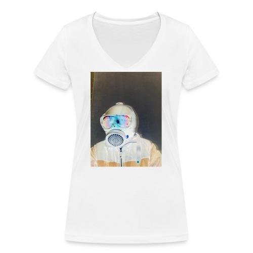 Covid 19 Coronavirus - Frauen Bio-T-Shirt mit V-Ausschnitt von Stanley & Stella