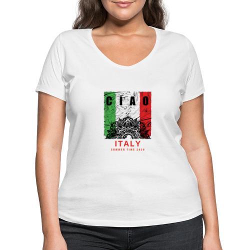 SUMMER 2020 T-shirt - Women's Organic V-Neck T-Shirt by Stanley & Stella
