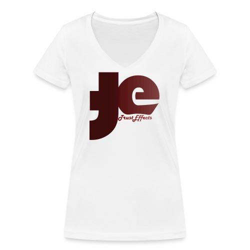 company logo - Women's Organic V-Neck T-Shirt by Stanley & Stella