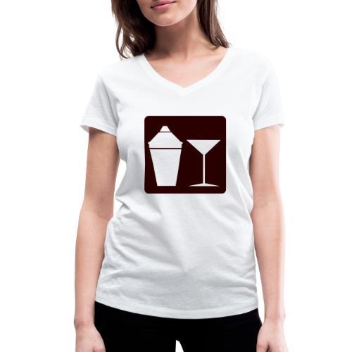 Alkohol - Frauen Bio-T-Shirt mit V-Ausschnitt von Stanley & Stella