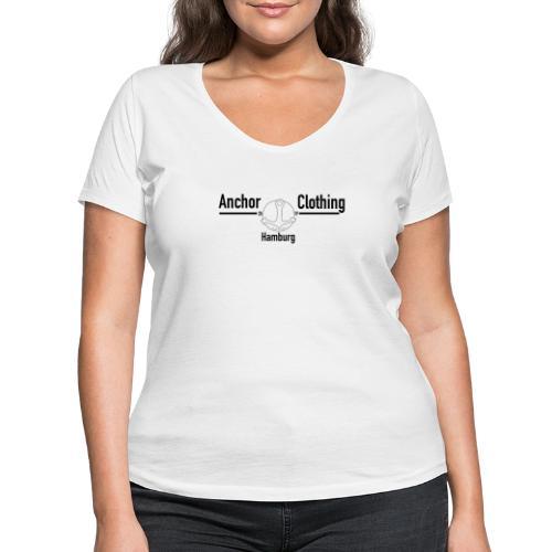 Anchor | Anchor Clothing Brand - Frauen Bio-T-Shirt mit V-Ausschnitt von Stanley & Stella