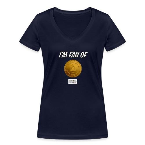 I'm fan of Eos - T-shirt ecologica da donna con scollo a V di Stanley & Stella