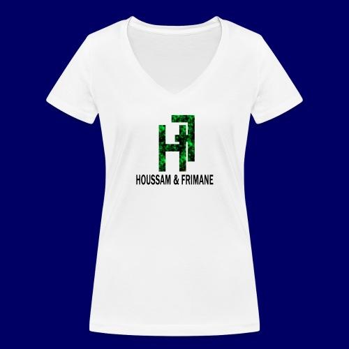 h&f - T-shirt ecologica da donna con scollo a V di Stanley & Stella