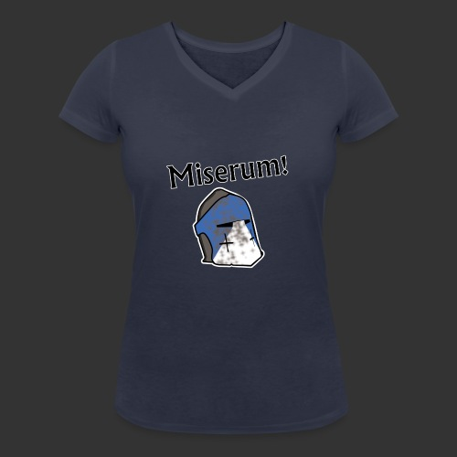 Warden Cytat Miserum! - Ekologiczna koszulka damska z dekoltem w serek Stanley & Stella