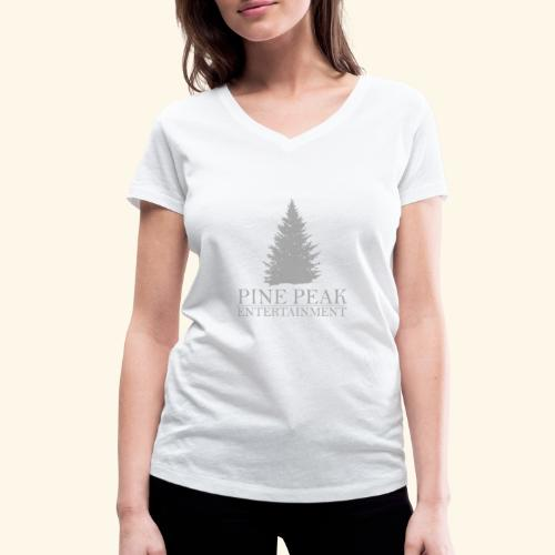 Pine Peak Entertainment Grey - Vrouwen bio T-shirt met V-hals van Stanley & Stella